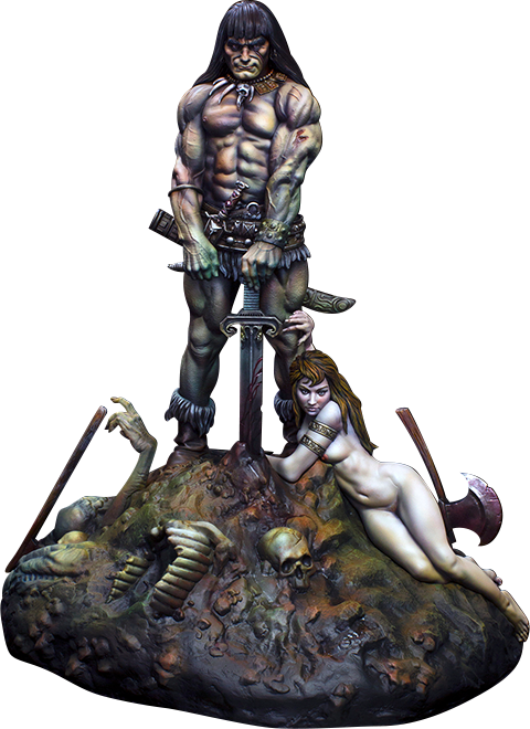 Kabuki Studio Conan the Barbarian Statue