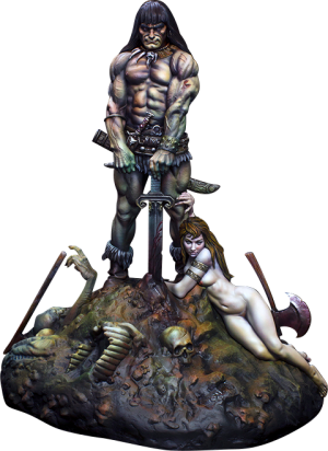 Conan the Barbarian Statue