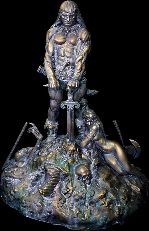 Kabuki Studio Conan the Barbarian Sacred Bronze Statue