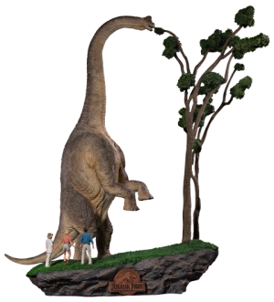 Welcome To Jurassic Park Diorama