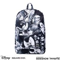 Gallery Image of Kingdom Hearts (Black & White) Backpack Apparel
