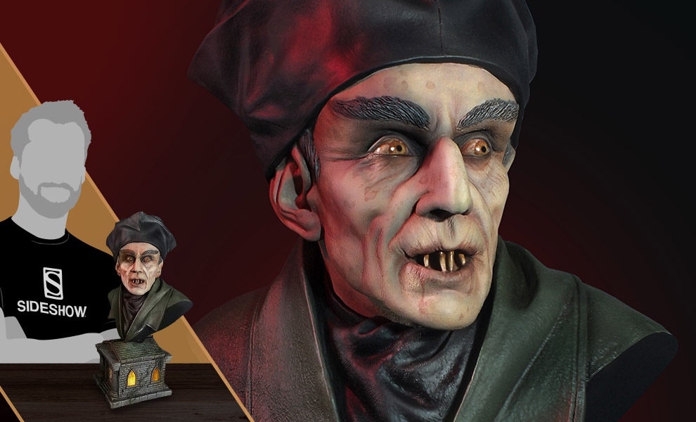 Gallery Feature Image of Nosferatu Bust - Click to open image gallery