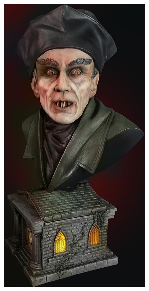 Quarantine Studio Nosferatu Bust