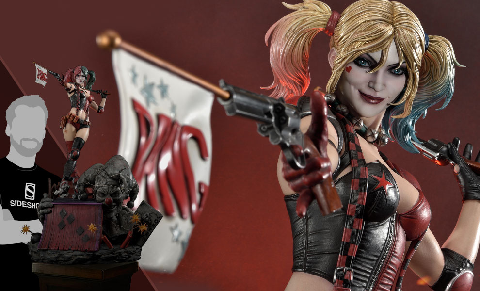 Gallery Feature Image of Harley Quinn (Deluxe Version) Statue - Click to open image gallery