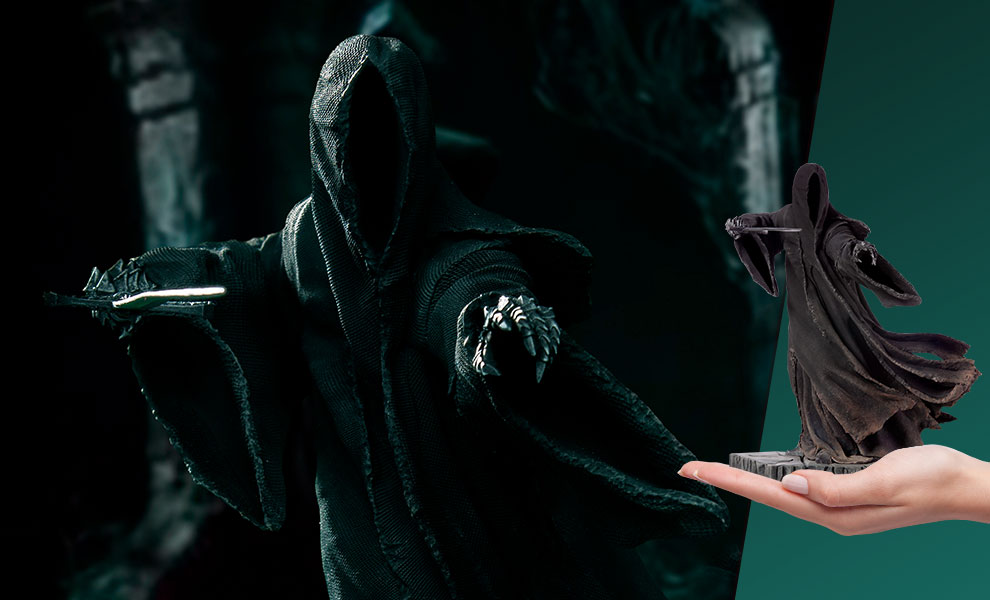 "Gallery Feature Image of ""Attacking"" Nazgul Statue - Click to open image gallery"