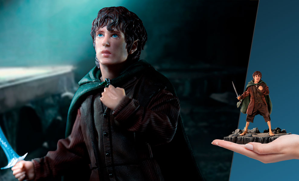 Gallery Feature Image of Frodo Statue - Click to open image gallery
