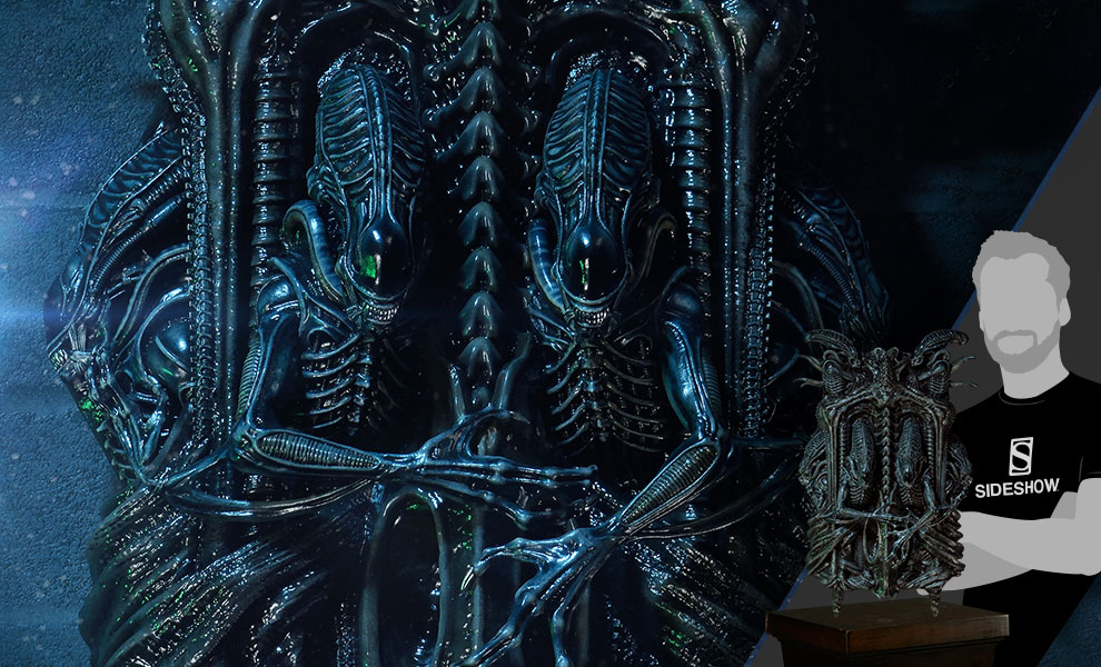 Gallery Feature Image of Aliens 3D Wall Art Statue - Click to open image gallery