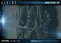 Gallery Image of Aliens 3D Wall Art Statue
