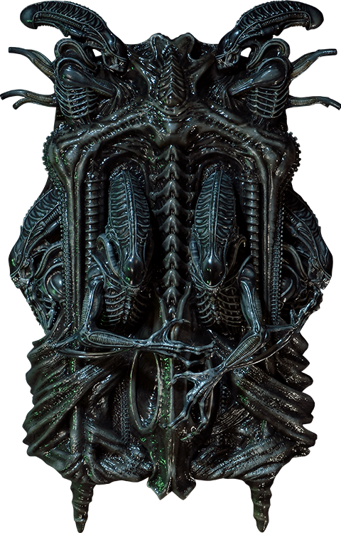 Prime 1 Studio Aliens 3D Wall Art Statue