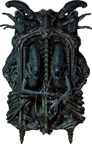 Aliens 3D Wall Art Statue