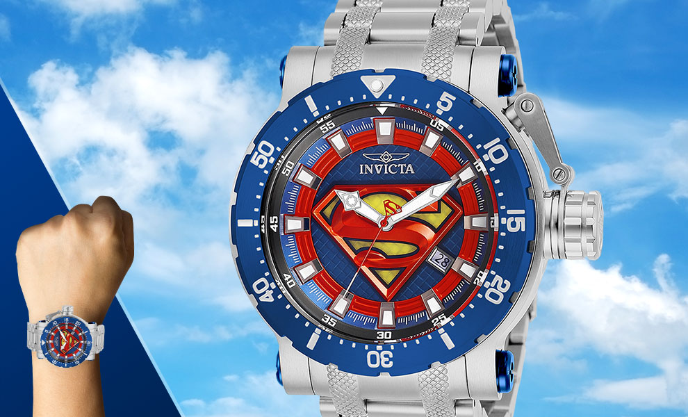 Gallery Feature Image of Superman Watch - Model 26823 Jewelry - Click to open image gallery