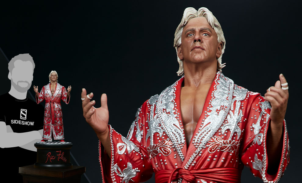 Gallery Feature Image of Ric Flair (The Nature Boy) Statue - Click to open image gallery