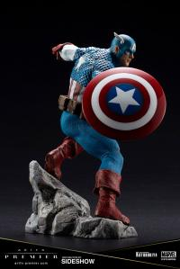 Gallery Image of Captain America 1:10 Scale Statue