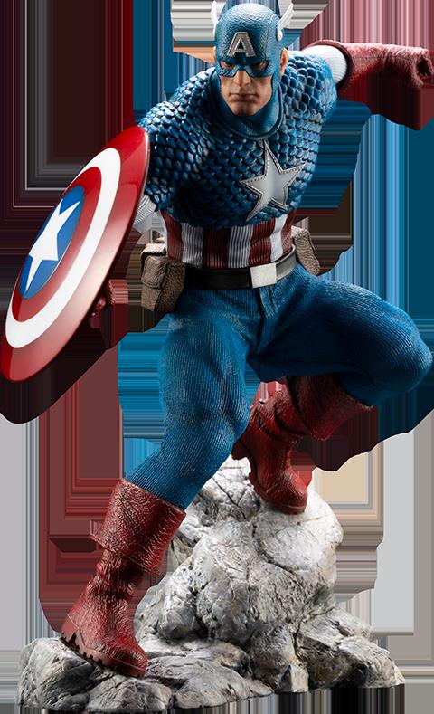 Kotobukiya Captain America 1:10 Scale Statue