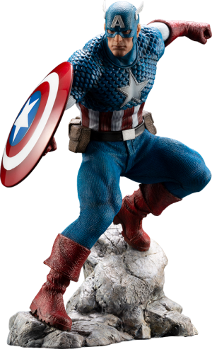 Captain America 1:10 Scale Statue