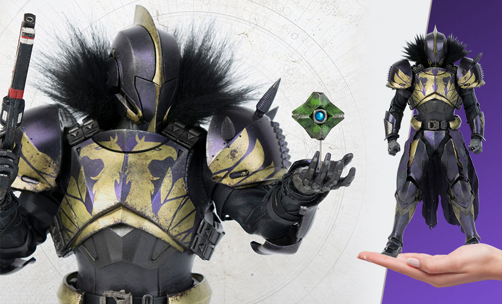 Gallery Feature Image of Titan (Golden Trace Shader) Sixth Scale Figure - Click to open image gallery
