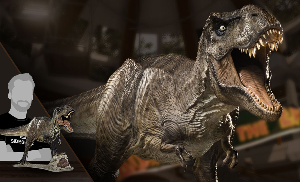 Gallery Feature Image of T-Rex Statue - Click to open image gallery