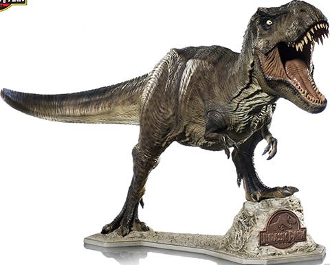 Iron Studios T-Rex Statue