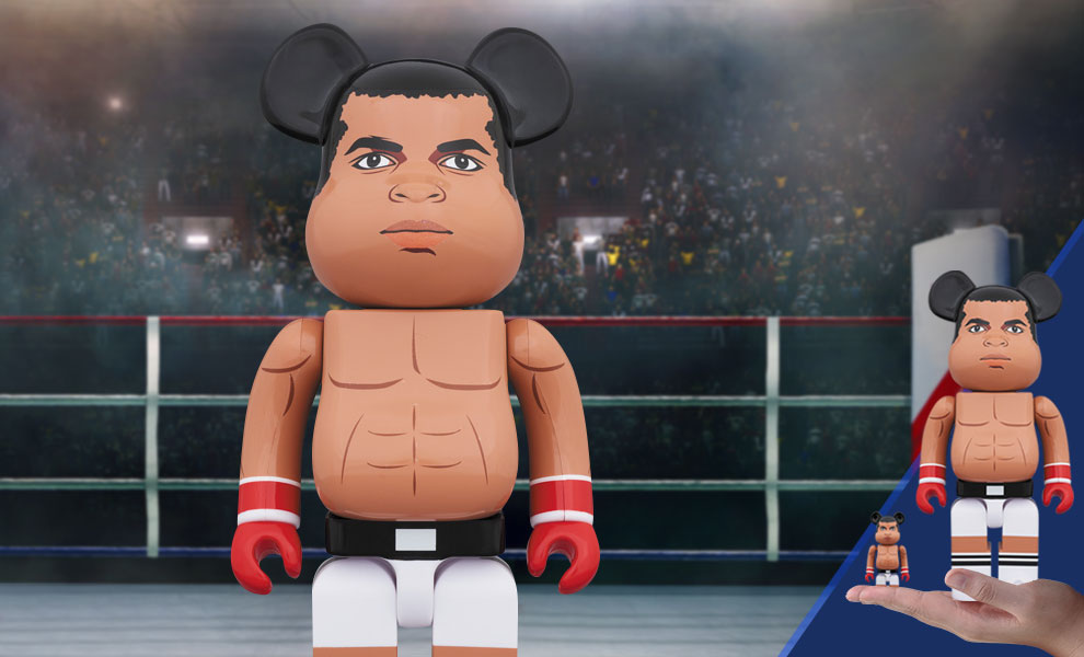 Gallery Feature Image of Be@rbrick Muhammad Ali 100% and 400% Collectible Set - Click to open image gallery