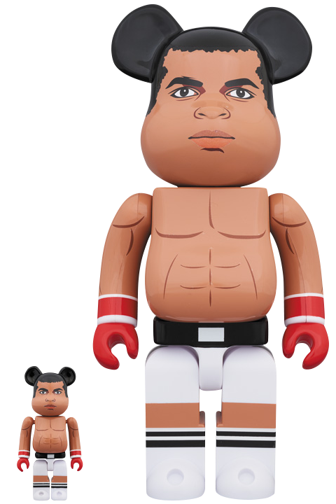 Medicom Toy Be@rbrick Muhammad Ali 100% and 400% Collectible Set