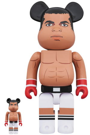 Be@rbrick Muhammad Ali 100% and 400% Collectible Set