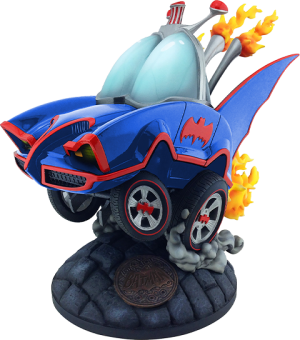 Batman Classic TV Series Batmobile (Blue Variant) Statue