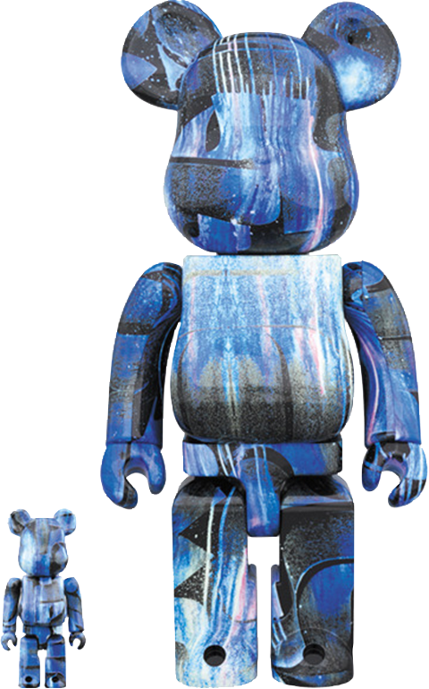 Medicom Toy Be@rbrick Rostarr 100% and 400% Collectible Set