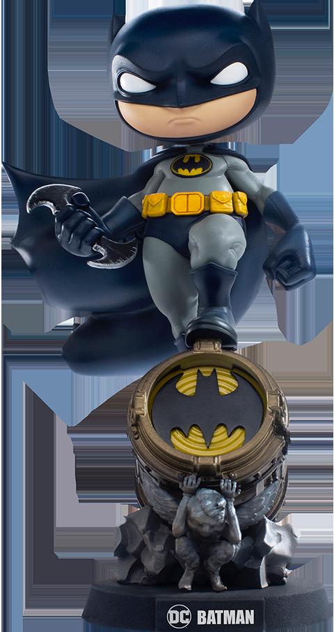 Iron Studios Batman (Deluxe) Mini Co. Collectible Figure