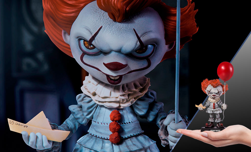 Gallery Feature Image of Pennywise (Deluxe) Mini Co. Collectible Figure - Click to open image gallery