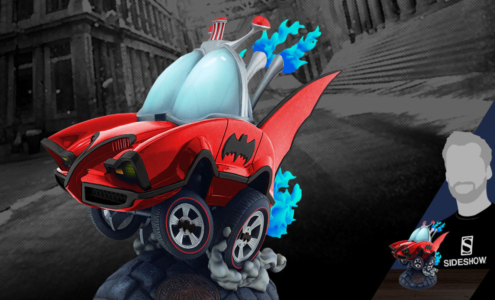 Gallery Feature Image of Batman Classic TV Series Batmobile (Red Variant) Statue - Click to open image gallery