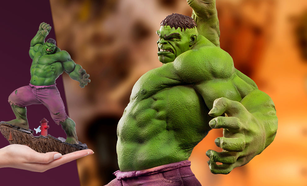 Gallery Feature Image of Hulk 1:10 Scale Statue - Click to open image gallery