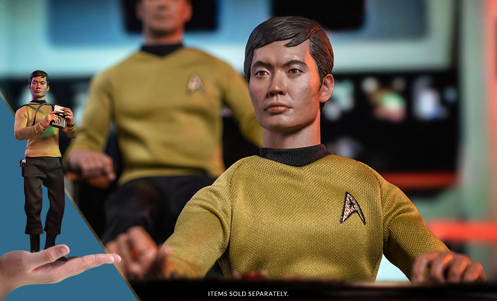 Gallery Feature Image of Hikaru Sulu Sixth Scale Figure - Click to open image gallery