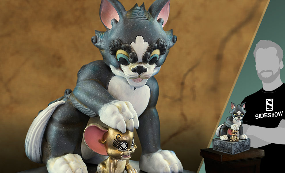 Gallery Feature Image of Tom and Jerry Statue - Click to open image gallery