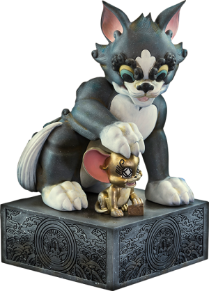 Tom and Jerry Statue