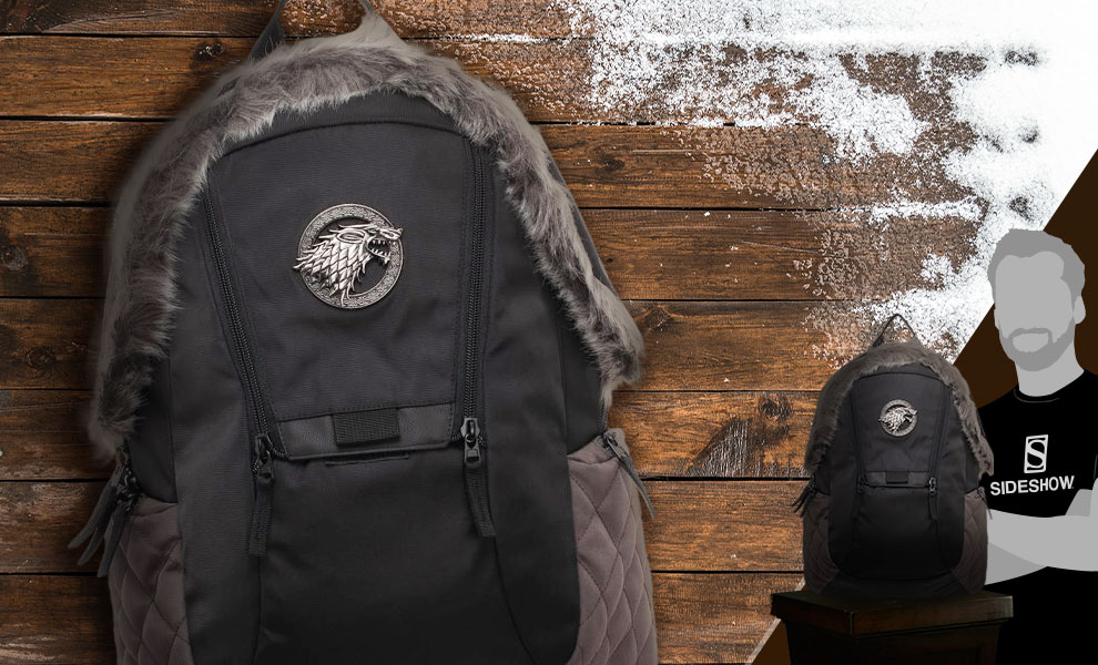Gallery Feature Image of Game of Thrones Stark Inspired Backpack Apparel - Click to open image gallery
