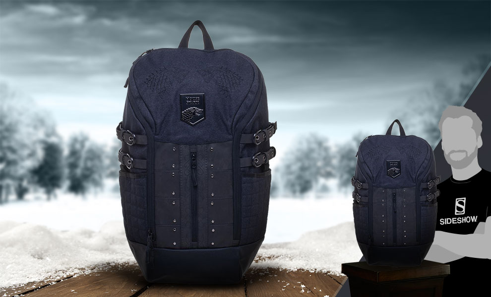 Gallery Feature Image of Game of Thrones House Stark Backpack Apparel - Click to open image gallery