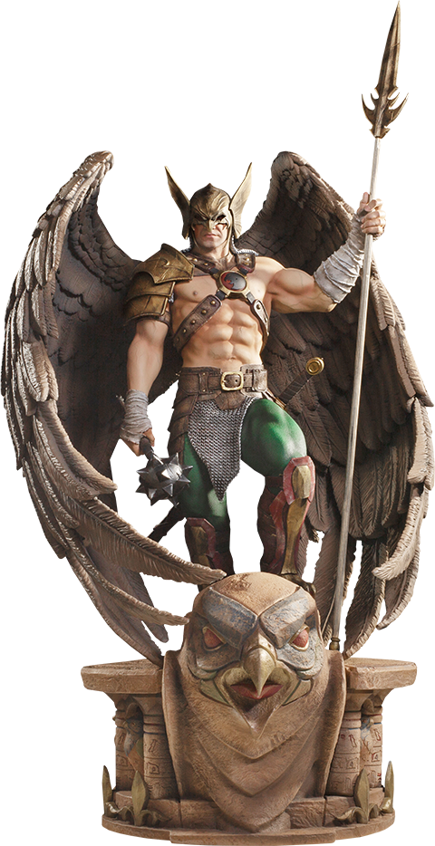 Iron Studios Hawkman (Closed Wings) Statue