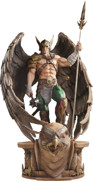 Hawkman (Closed Wings) Statue