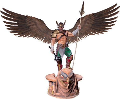 Iron Studios Hawkman (Open Wings) Statue