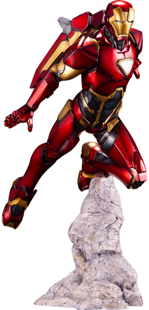 Iron Man 1:10 Scale Statue
