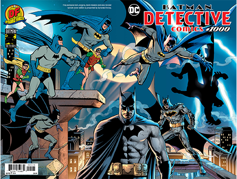 Dynamic Forces Detective Comics #1000 Variant Cover Book