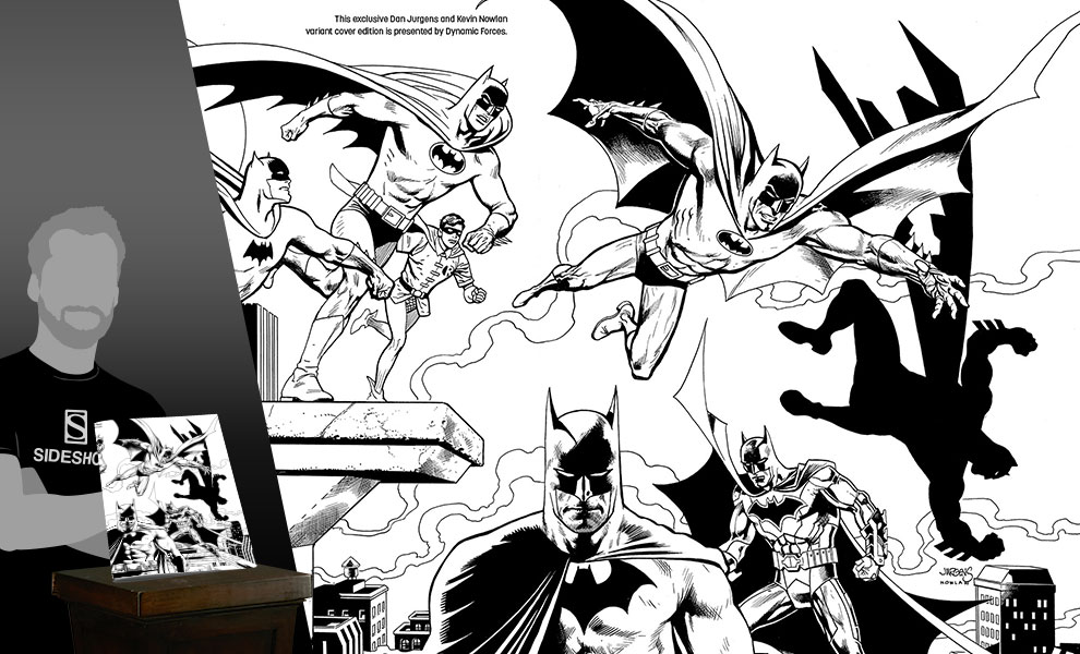 Gallery Feature Image of Detective Comics #1000 Pure Line Art Edition Book - Click to open image gallery