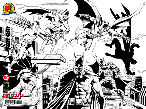 Dynamic Forces Detective Comics #1000 Pure Line Art Edition Book