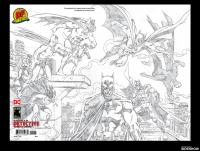 Gallery Image of Detective Comics #1000 Pure Pencil Sketch Edition Book
