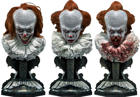 Prime 1 Studio Pennywise Bust Set Collectible Set