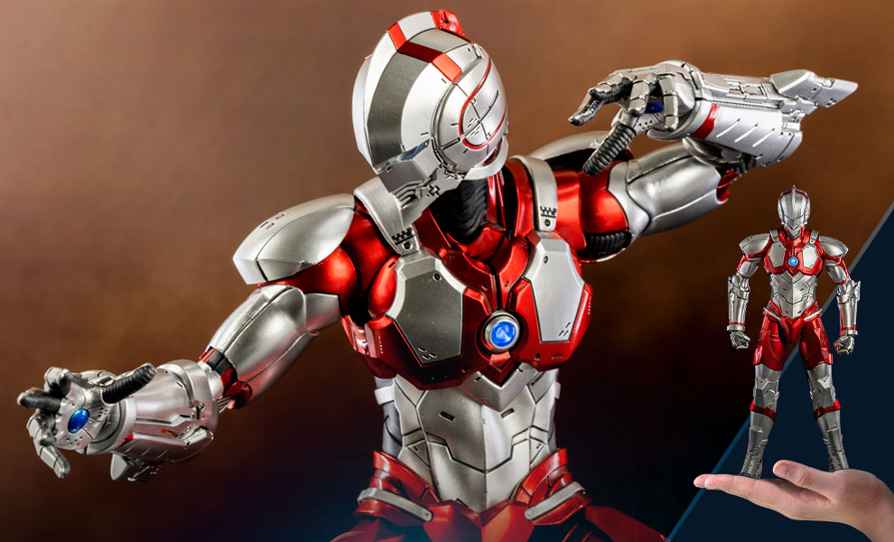 Gallery Feature Image of Ultraman Suit (Anime Version) Sixth Scale Figure - Click to open image gallery
