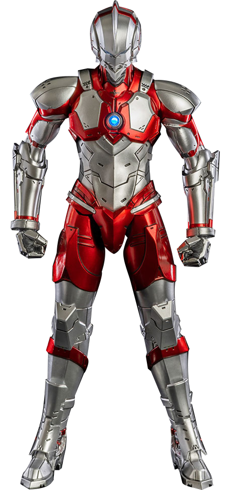 Threezero Ultraman Suit (Anime Version) Sixth Scale Figure