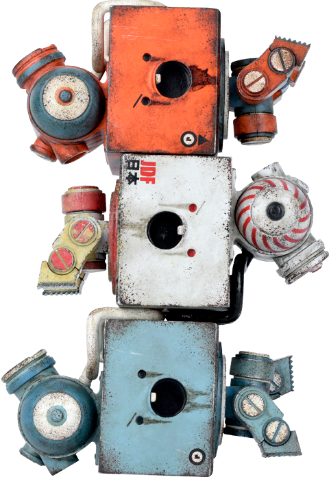 ThreeA Toys 3AGO Bomb V2 Square Collectible Set