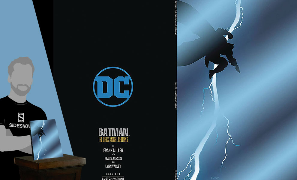 Gallery Feature Image of The Dark Knight Returns #1 Variant Book - Click to open image gallery