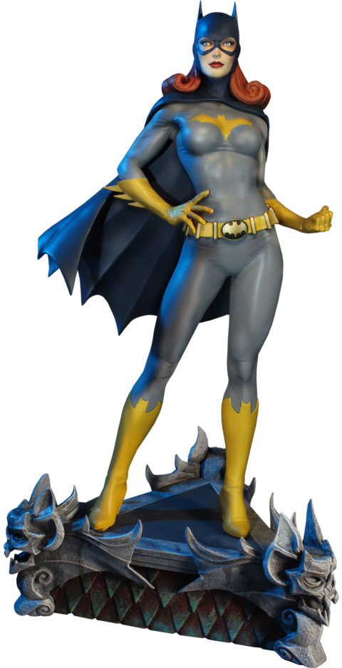 Batgirl DC Comic Super Powers Collection Maquette by Tweeterhead